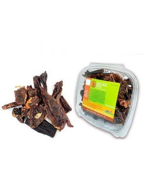 JERKY BEEF NATURAL Deshidratado (Carne en Tiras Premium) 1 LB - Ciudaddemascotas.com