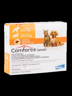Comfortis antipulgas Perro-Ciudaddemascotas.com