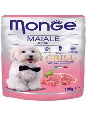 Monge grill pouche pork 100 g