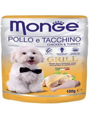 Pouche Monge grill chicken para Perros  - Ciudaddemascotas.com