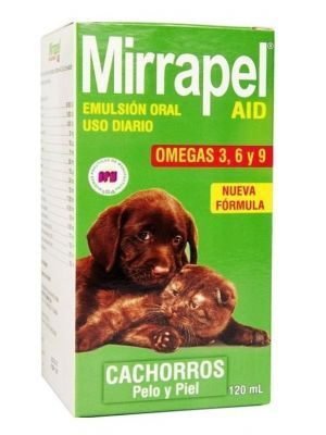 Mirrapel cachorros oleoso suplemento nutricional