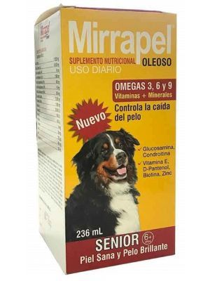 Mirrapel Perros Senior x 236 ml