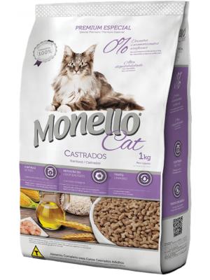 Comida para gatos Monello Cat Adulto Castrado - Ciudaddemascotas