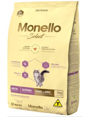 Comida para gatos Monello Select Cat Castrado - Ciudaddemascotas