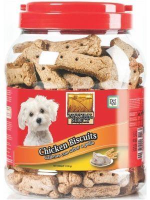 Galletas para perros Natural Select Pollo - ciudaddemascotas.com