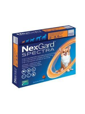 Nexgard Spectra 2 - 3.5 Kg en Ciudaddemascotas.com