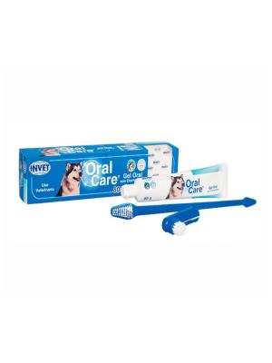Oral care para perros + doble cepillo - Ciudaddemascotas