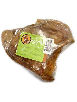 Snack Oreja de Cerdo Natural Deshidratada - ciudaddemascotas.com