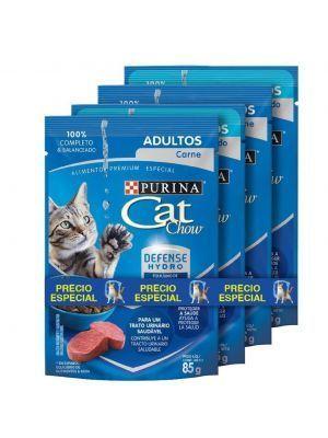 Comida Cat Chow Pouch Pague 3 Lleve 4 - ciudaddemascotas.com