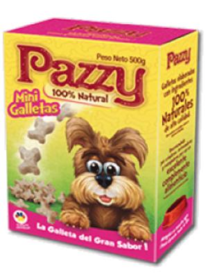 Galletas Pazzy Mini para Perro Caja - Ciudaddemascotas.com