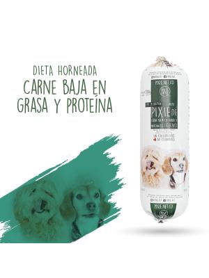Alimento Humedo Pixie Perro Carne Baja en Grasa y Proteina-Ciudaddemascotas.com