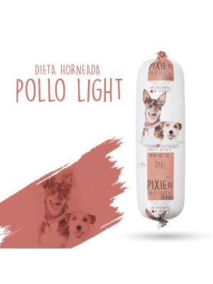 Pixie Perro Dieta Horneada Pollo Light 500gr