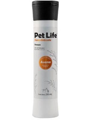Petlife Shampoo Dermohidratante 250 Ml - Ciudaddemascotas.com