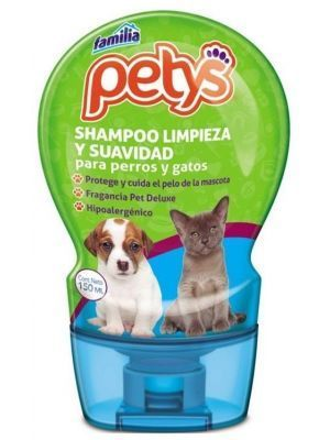 shampoo limpieza y suavidadpetys x 150 ml - Ciudaddemascotas.com