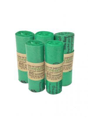 Bolsas Biodegradables x 5 rollos -  Ciudaddemascotas.com
