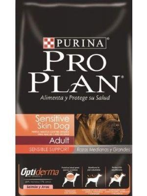 Comida Pro Plan Perros Piel Sensible - ciudaddemascotas.com