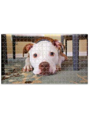 Rompecabezas MDF Cachorro Pitbull