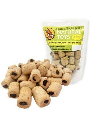 Snacks para perros Rellenitos con Fibra Natural- Ciudaddemascotas
