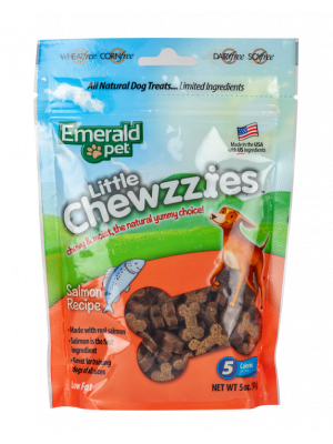 Emerald Pet Dog Snack Little Chewzzies Salmón 141 gr