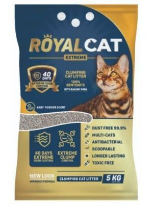 Arena para gatos Royal Cat Talco de Bebe-Ciudaddemascotas.com