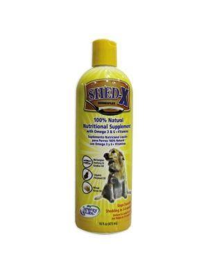 Shedx suplemento líquido para perros 16 Oz.