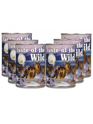 Six Pack Taste of the wild Lata Wetlands - Ciudaddemascotas.com