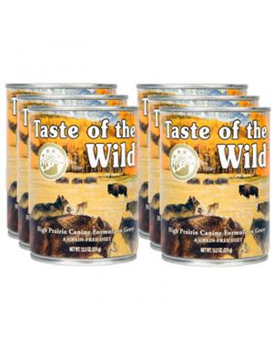 Taste of The Wild Lata Para Perros - Ciudaddemascotas.com