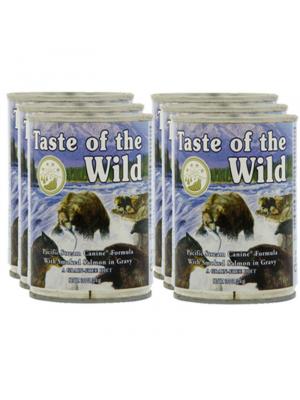 Six Pack para Perros Taste of The Wild Lata-Ciudaddemascotas.com