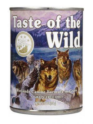 Taste of the wild Lata Wetlands 374 g