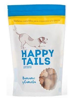 Galletas Perro Happy Tails Banano Canela - Ciudaddemascotas.com