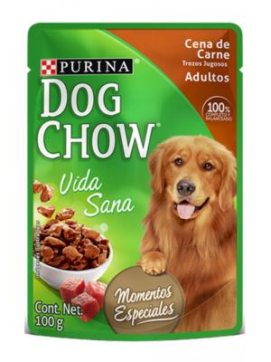 Dog Chow Pouche Carne x 100gr - P80