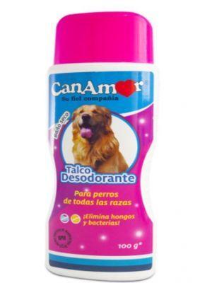 Baño seco desodorante para perros canamor-Ciudaddemascotas.com