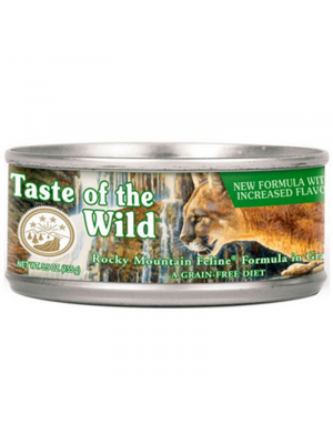 Comida Taste of The Wild Lata Rocky Mountain - Ciudaddemascotas.com