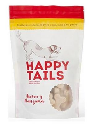 Snack Happy Tails Avena y Manzana - ciudaddemascotas.com