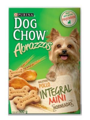 Dog Chow Abrazzos Integral Mini 500 gr