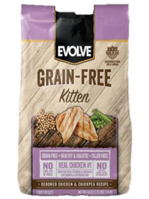 Comida para gatos Evolve Cat Kitten - Ciudaddemascotas.com