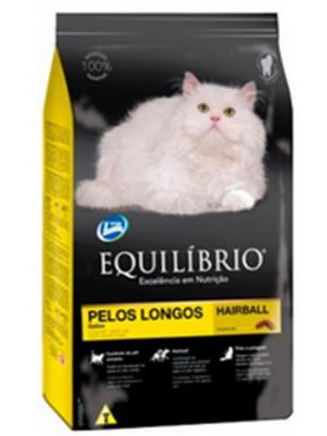 Comida Gatos Equilibrio Gatos Pelos Longos-Ciudaddemascotas.com