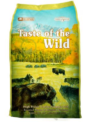 Comida Taste Wild High Prairie Bisonte - ciudaddemascotas.com
