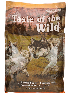 Comida Perro Taste Wild High Prairie Puppy-Ciudaddemascotas.com