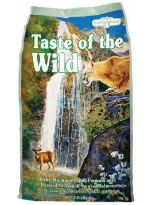 Taste Of The Wild Rocky Mountain Feline 2.27Kg - Ciudaddemascotas.com