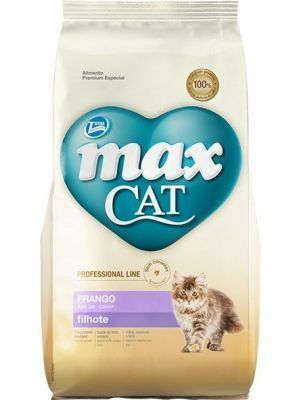 Comida Total Max Cat Gatitos Filhotes 1 Kg - Ciudaddemascotas.com