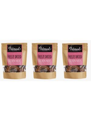 Petmeal Natural Snacks Chicken Necks Combo x 3