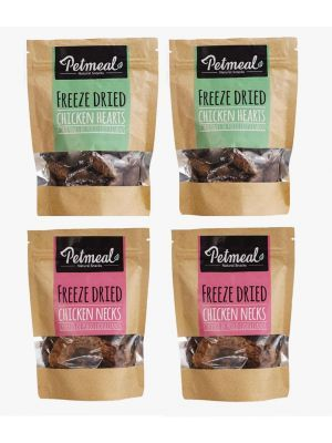 Petmeal Natural Snacks Surtidos Combo x 4