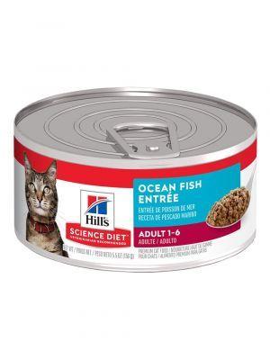 Hills Lata Gato C/D Ocean Fish 156 G